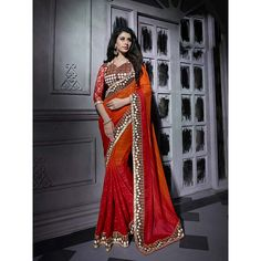 http://www.thatsend.com/shopping/lp/fvp/TESG204200/i/TE267384/iu/orange-chiffon-traditional-saree  Orange Chiffon Traditional Saree Apparel Pattern Embroidered. Work Embroidery, Border Lace. Blouse Piece Yes. Occasion Festive, Diwali. Top Color Red.