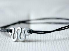 Aluminin wire and waxed cotton