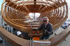 The San Salvador is Coming Right Along in Spanish Landing Park.  Hurray for the Maritime Museum.  I took a tour of the site and was amazed. I put mine and my son's initials in the piece that will go into the Hull of the Ship when it is completed.  We will be a piece of San Diego History.