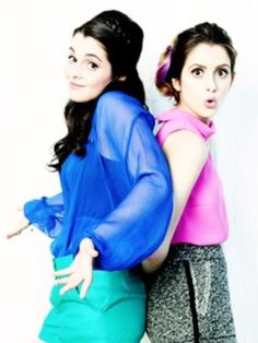 Vanessa and Laura Marano as Kelsey and Amelia Graham, age 17. They're twins, and a bit crazy, but they can get you anything you need (not drugs or alcohol or anything illegal). They're antisocial, and tend to stick together.