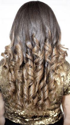 California Hair. Ombré Hair.