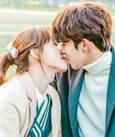 Weightlifting Fairy Kim Bok Joo ended today, January Gladly it was a happy ending ❤ I'm looking forward for more dramas of these two together. Kim Bok Joo and Joon Jung Hyung ajaaa! Nam Joo Hyuk Lee Sung Kyung, Jong Hyuk, Weightlifting Kim Bok Joo, Weightlifting Fairy, Kdrama, Kim Bok Joo Swag, Weighlifting Fairy Kim Bok Joo, Style Ulzzang, Joon Hyung