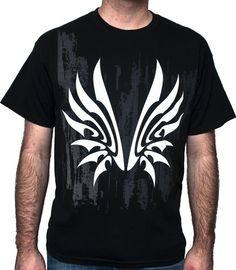 Tsubasa Reservoir Chronicle Wing anime logo BLACK tee shirt