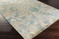 Slice Of Nature Area Rug | Gray Modern Rugs Hand Knotted | Style SLI6407