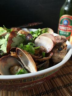 Szechwan Clams