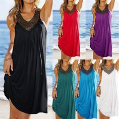 New Brand Sexy Women Summer Spring Autumn Holiday Boho Long Knee-Length Sleeveless Casual Maxi Beach Dress Evening Party Dresses