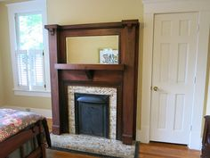 IMG_2736-2013-07-28-Highland-View-Craftsman-fireplace-1-panel-mirror by clambake444, via Flickr