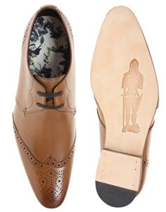 Enlarge Ted Baker Greco Wing Cap Shoes