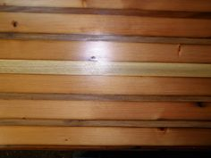 Custom made antique barn wood butcher block made by Creatively Kustomized