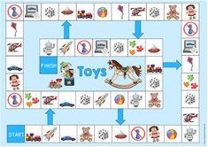 """Ergänzendes Material zum Thema """"toys"""""""