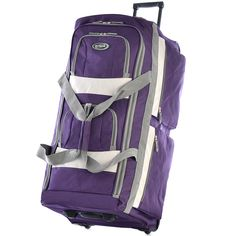 aecbec88f726 Olympia 29-inch 8-pocket Rolling Upright Duffel Bag - Overstock™ Shopping -