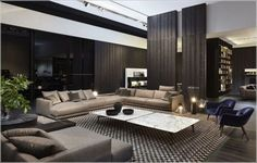 Paying attention to the details of the design is essential in creating a luxury living room interior. Eclectic Living Room, Home Living Room, Interior Design Living Room, Living Room Designs, Living Room Decor, Living Spaces, Luxury Homes Interior, Living Room Inspiration, Modern Room