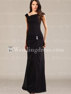 mother of the bride dress_Black_Size 6,8