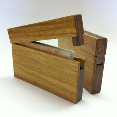 Business Card Holder - Narra Wood