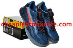 Kobe 8 Shoes Kobe Bryant Blitz Blue Orange Red