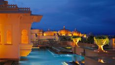 night at The Oberoi Udaivilas, Udaipur