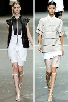 Alexander  Wang S 2013 via  Fash n Chips