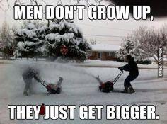 Boys will be boys!!
