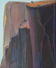 "Wayne Thiebaud, ""Canyon Mountains"" (2011–12)"