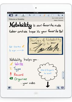 How I've gone to about 60% paperless in my daily life's processes: Notability