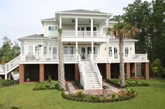 Custom Home in Daniel Island, SC. #SuiterConstruction #Customhome #Charleston