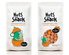 Nuts for Snacks - The Dieline -