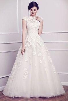 35 Vestidos de Novias para sentirte como una Princesa
