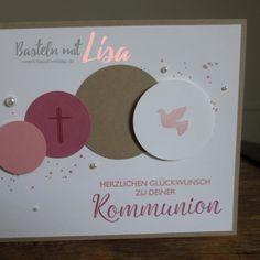 Karte Kommunion Mädchen Stampin Up Basteln mit Lisa 2018-03-13 01 Quad