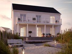 Cobb Bay | Ocean Living | Ett tvåplanshus i New Englandstil.