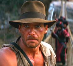Indiana Jones (Harrison Ford) - Indiana Jones and the Temple of Doom (1984)