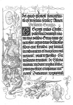 Albrecht Dürer, Gebetbuche Kaisers Maximilian I: