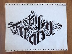 Stay Freaky, #typo #sketches for freaksoffashion.com