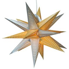 Moravian Silver gold star lamps for Home Decor http://www.29june.com/index.php/paper-stars.html