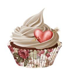 ᗰу ᏞíƖ Çupçɑƙє Cupcake Drawing, Cupcake Art, Paper Cupcake, Cupcake Cakes, Ice Cream Cupcakes, Love Cupcakes, Wedding Cupcakes, Art Cupcakes, Cupcakes Wallpaper