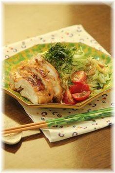 味噌生姜チキンの 冷やし中華。と お昼ごはん。|レシピブログ