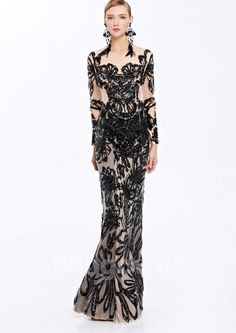 Cheap evening dress, Buy Quality prom evening dress directly from China evening dress gown Suppliers: [ heisgh-end custom] Coniefox 38069 black blackless ladies de festa Party Sexy banquet Prom evening dress gowns long 2016 autumn Cheap Evening Dresses, Prom Dresses, Formal Dresses, Festa Party, Mermaid Dresses, Homecoming, Sequins, Gowns, Banquet