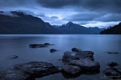 Queenstown, South Island, New Zealand - by photographer Nigel Moyes.