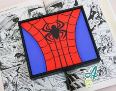 Kids Decor Spiderman Print Super hero Art by AbsolutelyStationery, £10.00