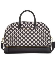 Vera Bradley Trimmed Travel Bag | macys.com