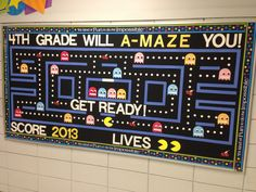 Pac-Man Bulletin Board