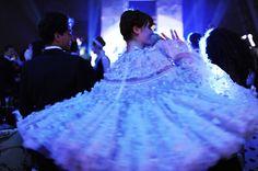Florence wearing Alexander McQueen
