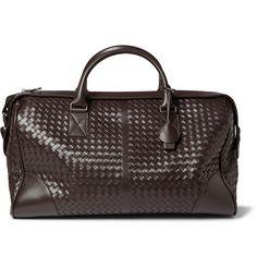 6b0c1cbca41b Bottega Veneta Intrecciato Leather Holdall Rucksack Backpack