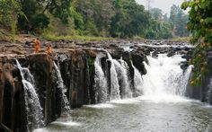 waterfalls of bolaven plateau, Laos