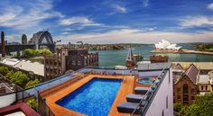AUD Located in the historic Rocks district, Holiday Inn Old Sydney boasts a rooftop swimming pool offering views of Sydney Opera House and Sydney Harbour. Visit Sydney, Aud, Rooftop, Opera House, Swimming Pools, Rocks, Australia, Holiday, Swiming Pool