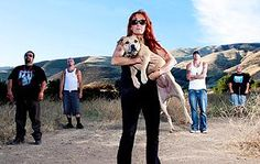 I love what Tia is doing for pitbulls that need help.