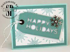 The Crafty Medic: Simply Snowflakes November 2014 Paper Pumpkin alternate ideas