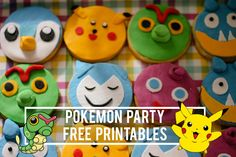 Pokemon party free printables - click to download