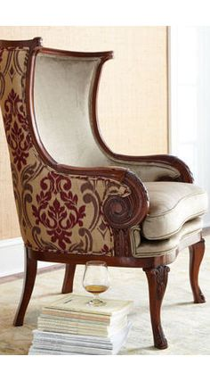 two fabrics one chair - Google Search