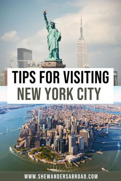 Planning to visit New York City for the first time? Here are the most important travel tips for NYC that you need to know as a first timer! | New York City travel tips | New York travel tips | NYC travel tips | NYC travel guide | New York City travel guide | Rookie mistakes in New York | Things to know about NYC | Visiting NYC for the first time | Best things to do in NYC | USA travel tips | Tips and tricks for traveling to NYC | Budget tips for New York City | NYC attractions | NYC vacation Visit New York City, New York City Travel, New City, Travel Guides, Travel Tips, Visiting Nyc, Concrete Jungle, Usa Travel, Mistakes