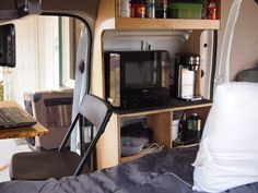 Micro minivan transit connect Campervan builds camper conversion - Robert Morehead - Picasa Web Albums